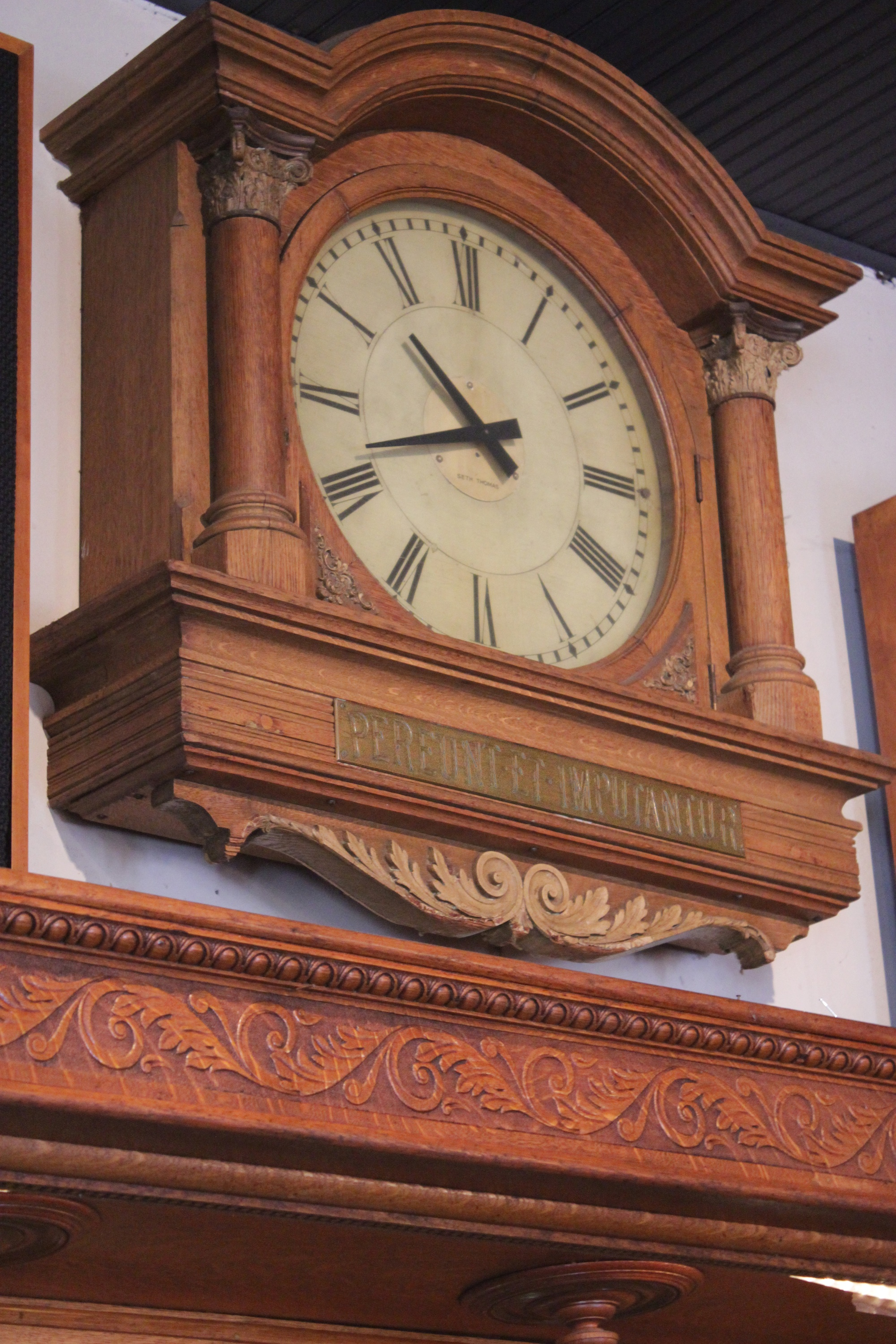 the saying is popular for clocks and sundials alluding to the way we spend our time whether that be wisely or not