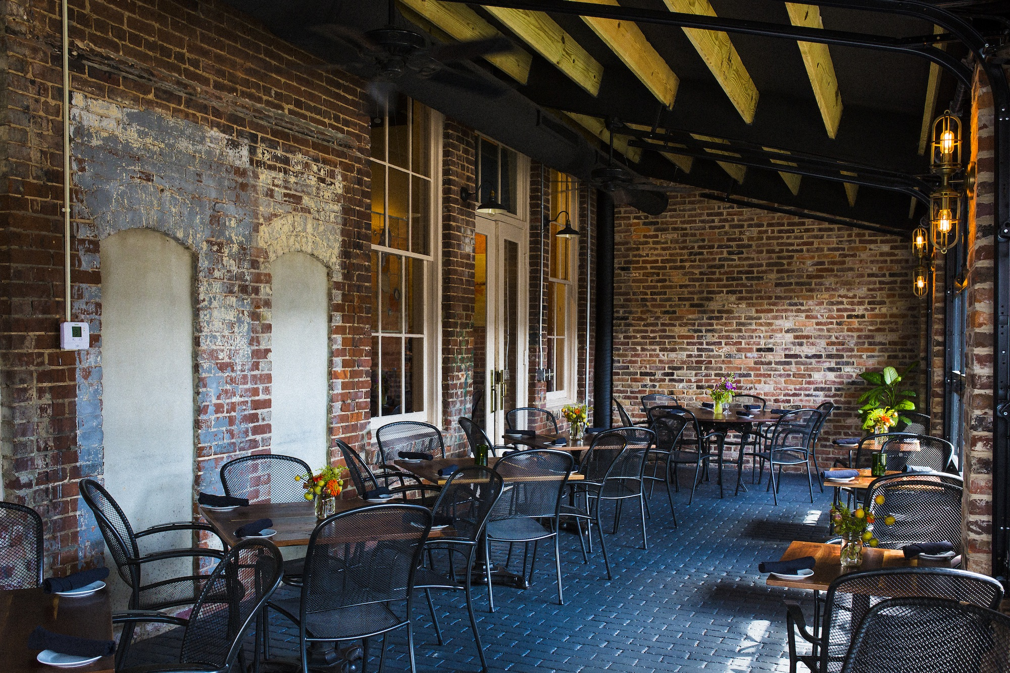 Enjoy Outdoor Eating Indoor Seating on the New Patio Motor