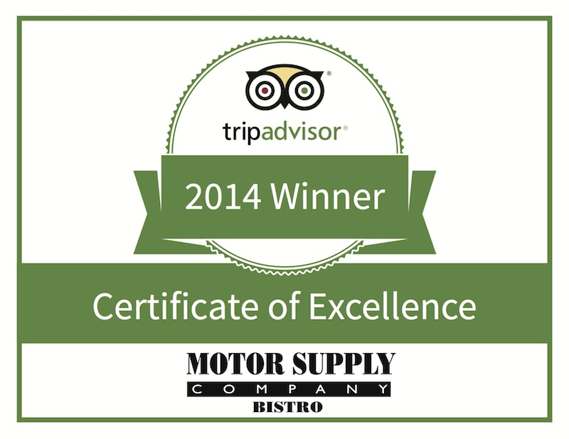 Motor Supply receives fourth consecutive TripAdvisor Award of Excellence